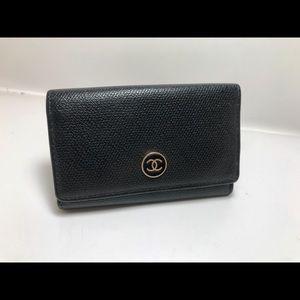 Beautiful Chanel Black Key Holder